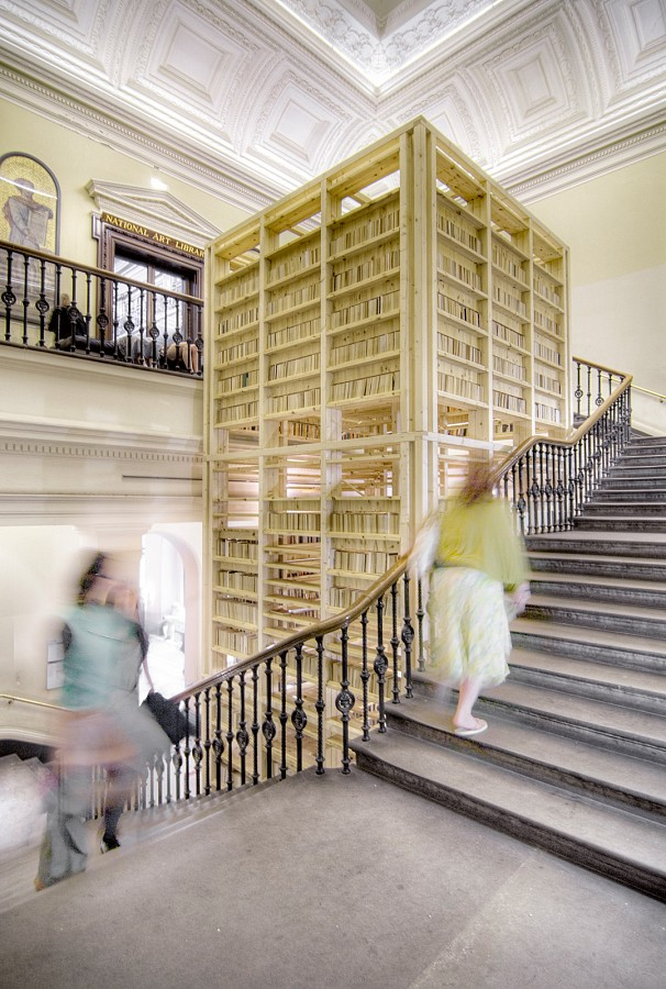 architecture norway   ARK, installation at the V&A exhibition \
