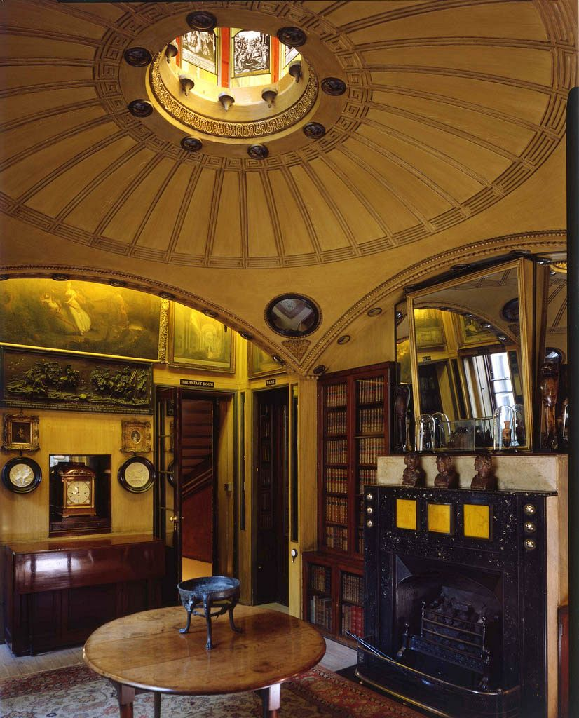 The world inside. Breakfast room, Sir John Soane's House, London. Photo: Martin Charles