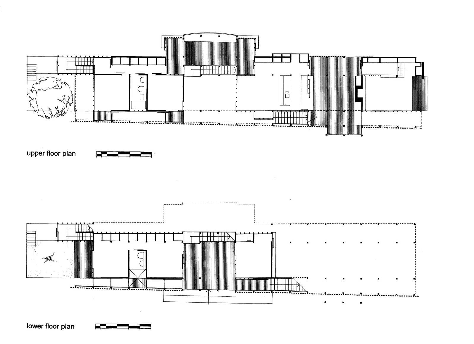 Andresen O'Gorman: Rosebery House, Highgate Hill, Queensland, Australia 1997. Plans.
