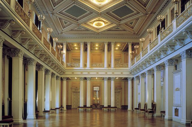 The Royal Palace, Oslo. Architect: H.D.F von Linstow, 1849. Photo: Jiri Havran/Arkifoto