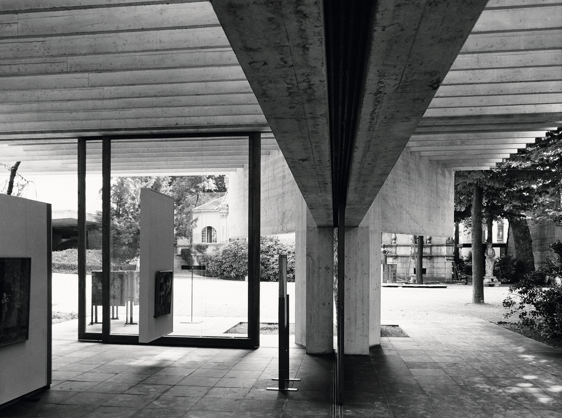 The Nordic pavilion, Venice. Sverre Fehn 1962. Foto:  The National museum of Art, Architecture and Design, Oslo.