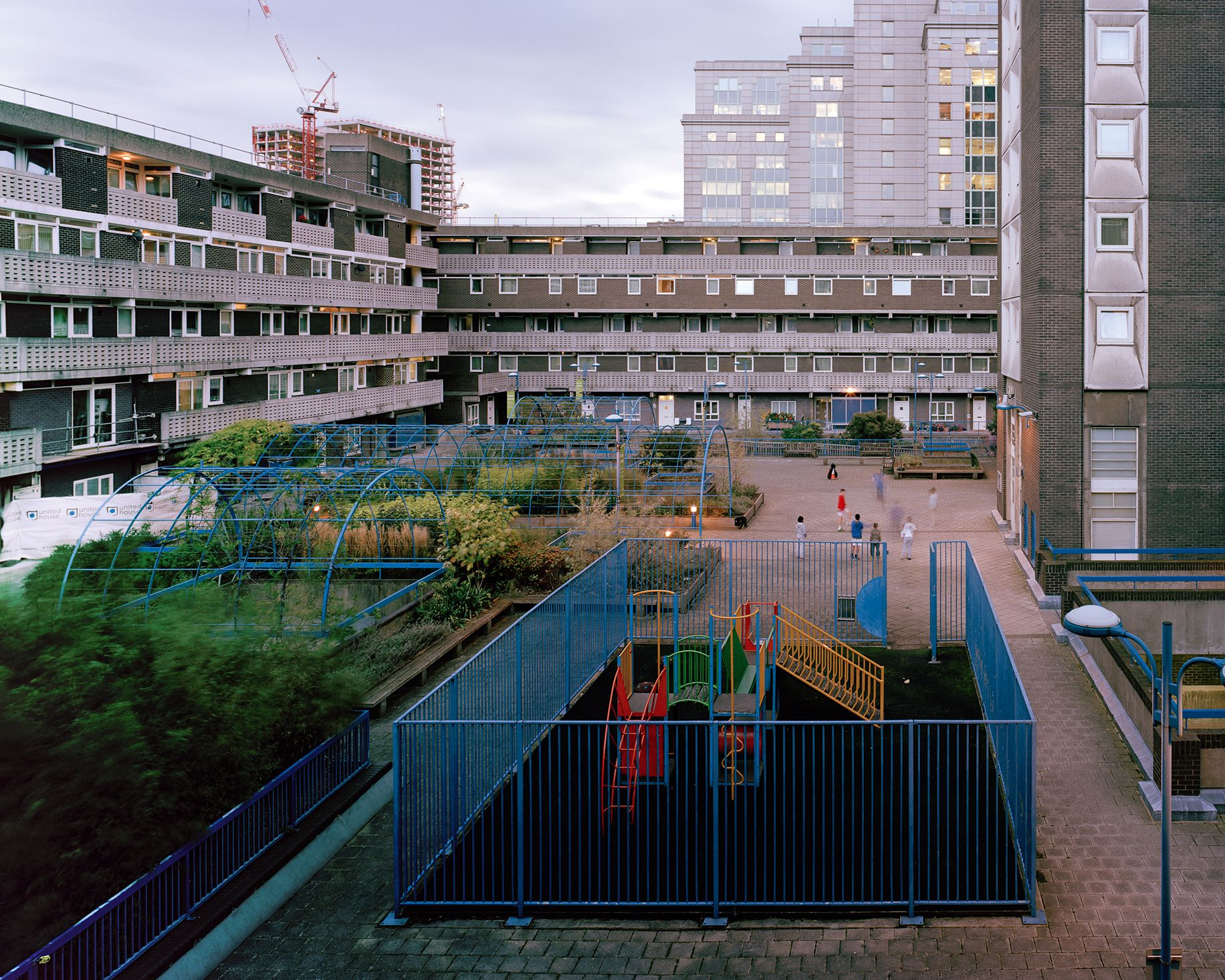 Middlesex Estate, housing project in the London Borough of Tower Hamlets.  Photo: Henrietta Williams