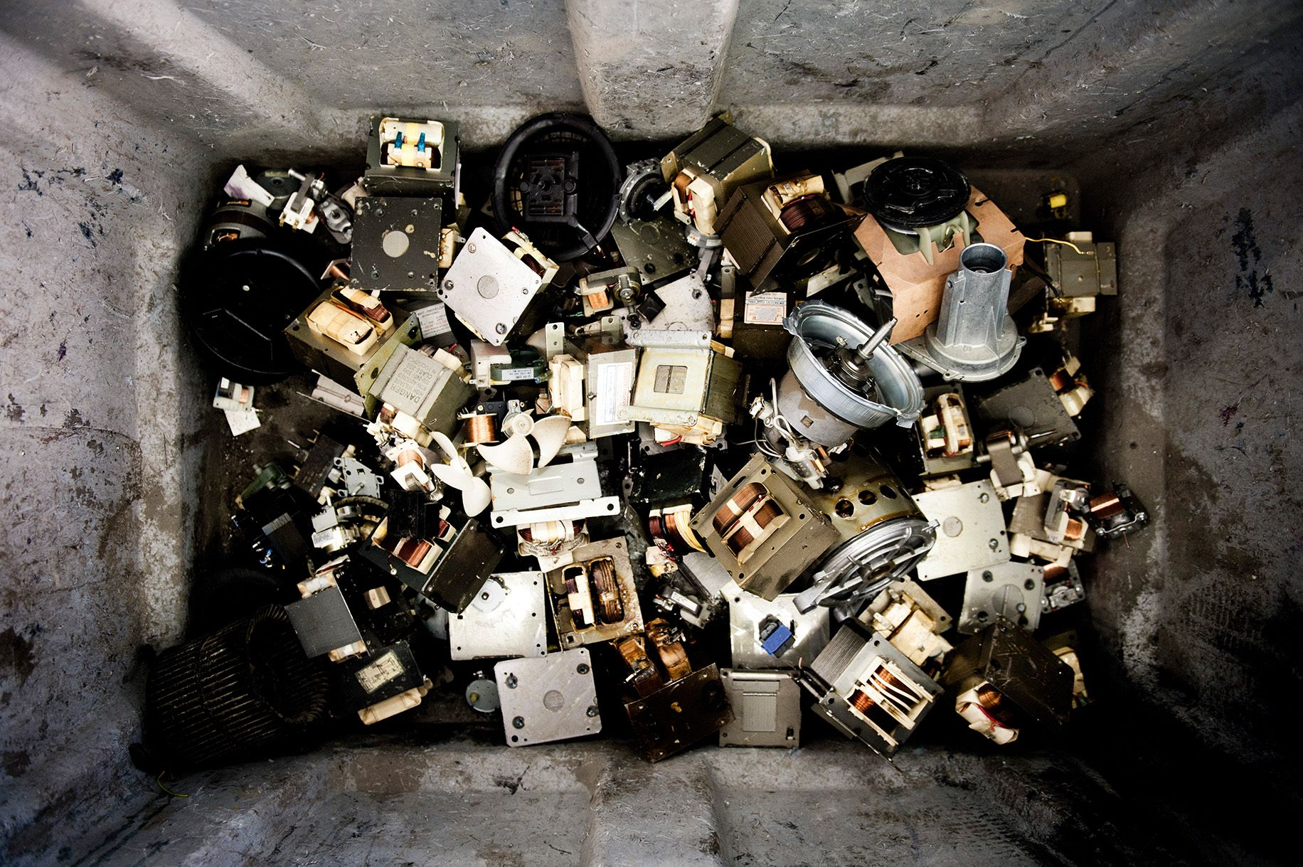 _Urban mining_: The waste of today's consumer societies is a resouce to be mined. Here from Austria. Photo: from the blogg www.biorama.at