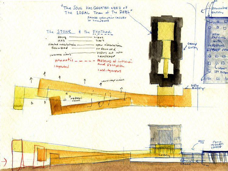 Steven Holl: The Nelson-Atkins Museum of Art, Kansas City, 2007.
