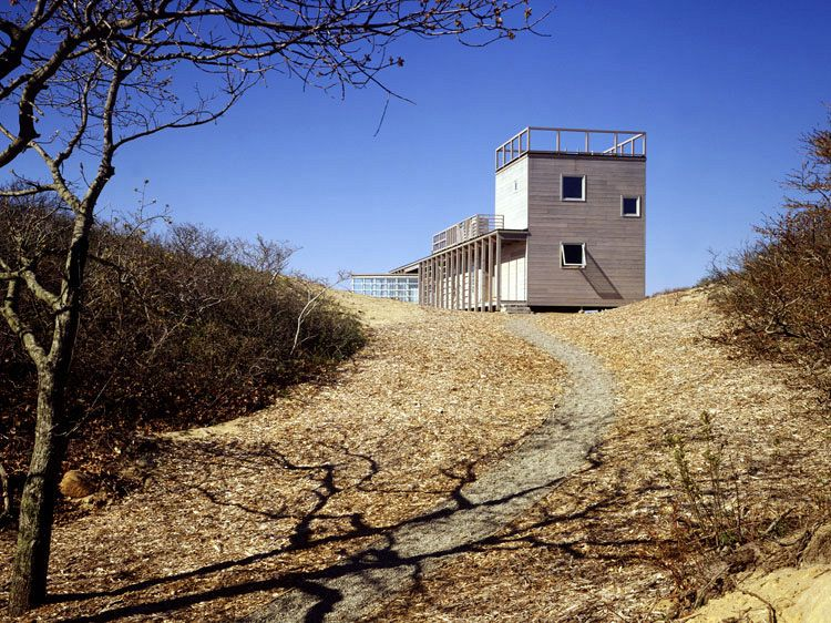 Steven Holl: House at Martha's Vineyard, 1988.